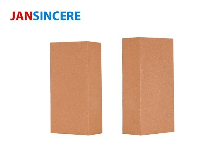 High Crushing Strength Fire Clay Bricks Excellent Thermal Shock Resistance