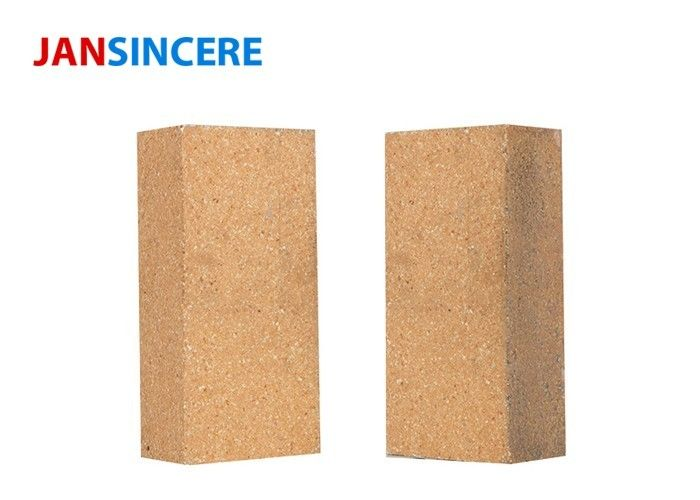 Dense Density High Temp Fire Brick , Cement Kiln Refractory Bricks Alkali Resistant