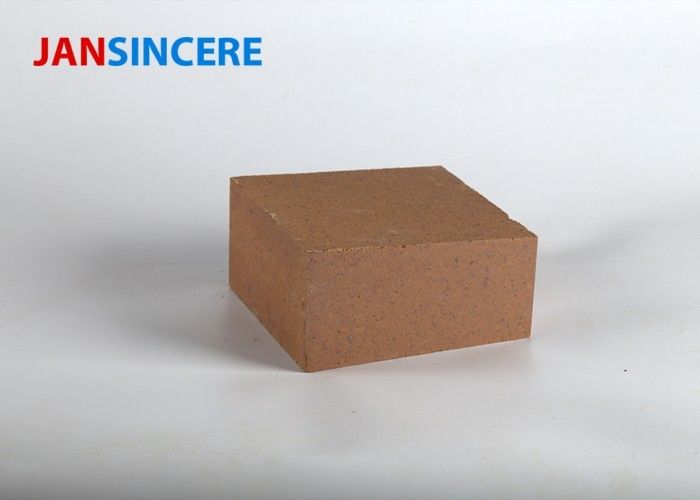 High Strength Magnesite Refractory Bricks , Magnesia Iron Spinel Kiln Bricks