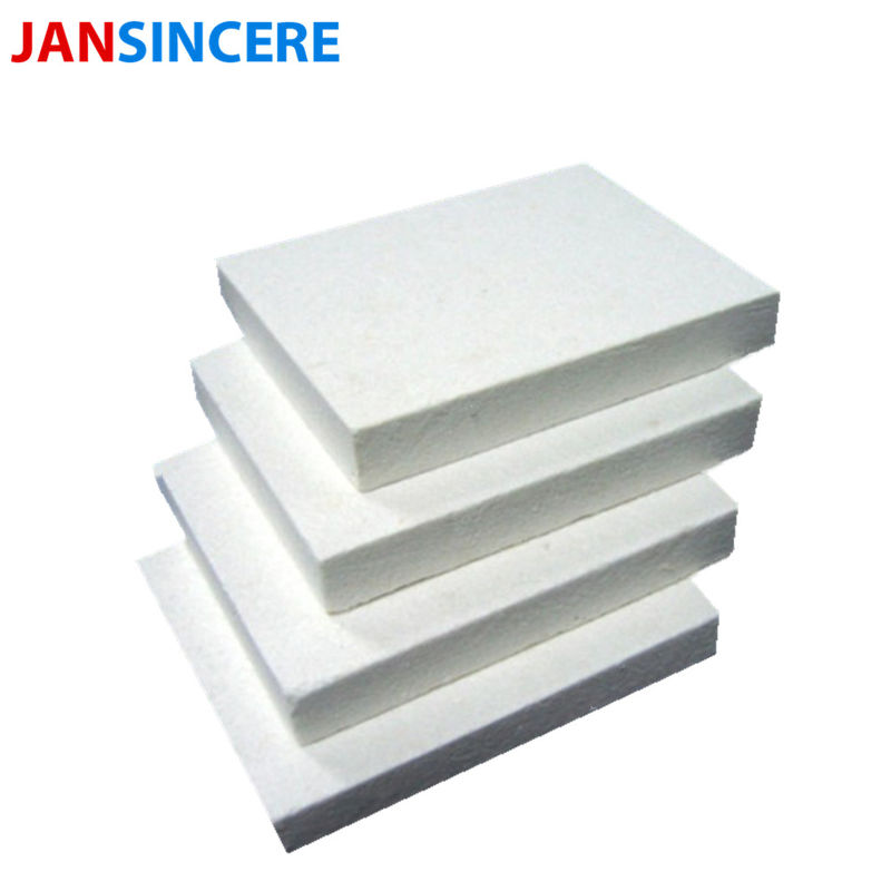 ISO Passed Ceramic Insulation Board / High Alumina Ceramic Board For Furnace Pipe