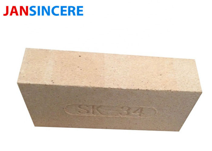 Refractory Insulating Thin Fire Clay Brick / Clay Baking Brick High Strength For Baking Pizza Oven